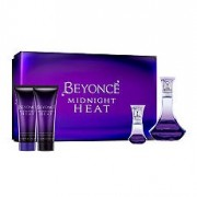 Beyonce Midnight Heat EDP 100 ml + EDP 15 ml + 75 ml Body Lotion + 75 ml Shower Cream - Bayan Parfüm Set